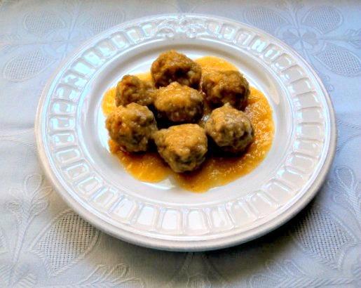 receta casera albóndigas salsa española