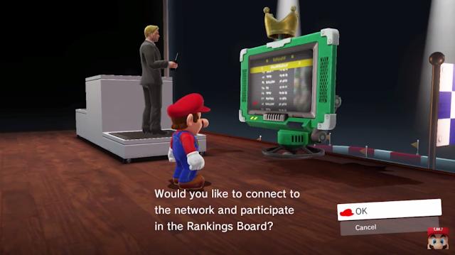 Super Mario Odyssey Rankings Board