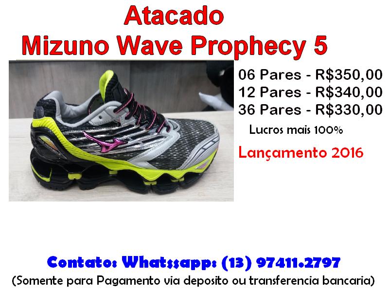 755d0fbb81 ... Atacado Tênis Mizuno Prophecy 5 - Feminino - 100% Original - Lançamento  2016 9ac07755cbb45d ...