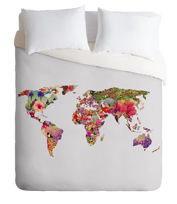 It's Your World Duvet Cover