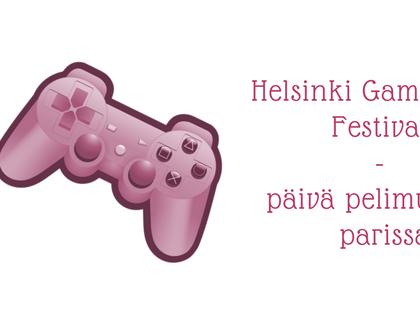 Helsinki Game Music Festival - päivä pelimusiikin parissa