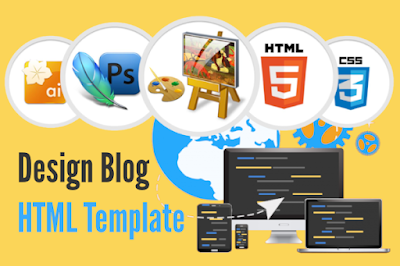 Design Your First Responsive Blog HTML Template