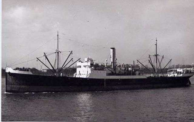 British freighter Culebra, sunk on, 25 January 1942 Worldwartwo.filminspector.com