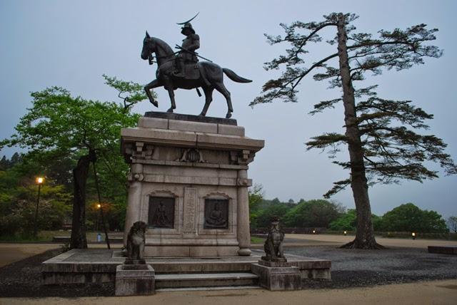 Sendai Samurai statue. Tokyo Consult. TokoConsult.