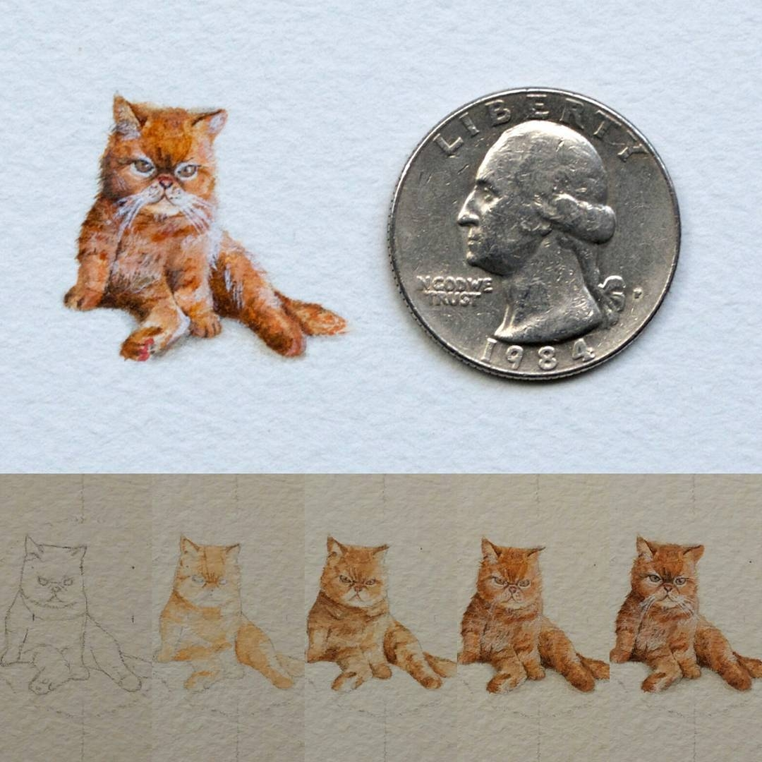05-Cat-WIP-Rachel-Beltz-Creative-Miniature-Paintings-www-designstack-co