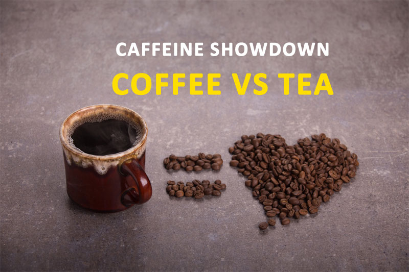 Caffeine Showdown Coffee VS Tea