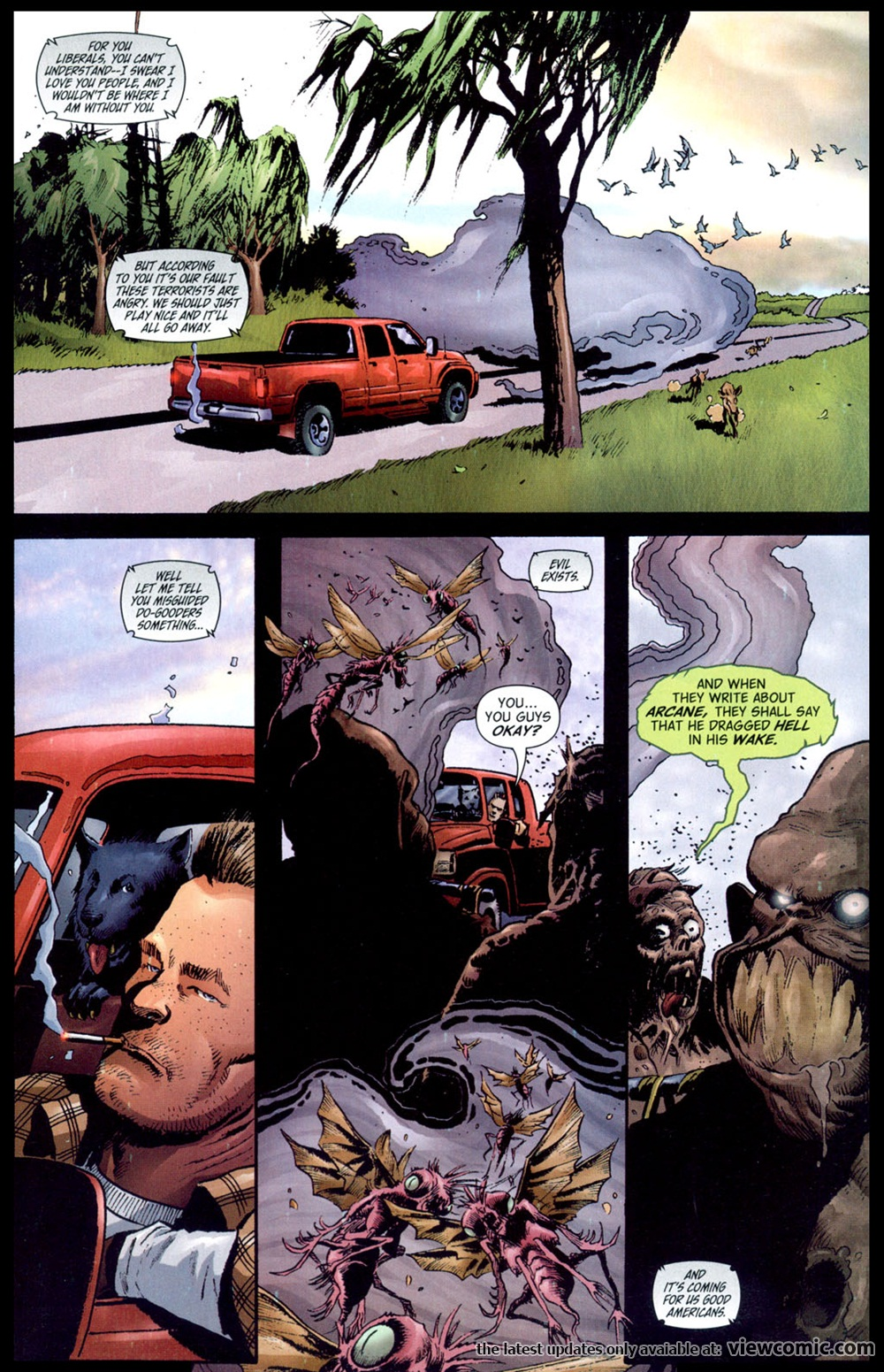 Swamp thing v4 011 reading comics online for The thing free online