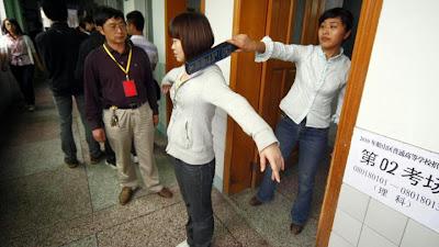 Pelajar Perempuan Di China Dilarang Memakai Bra Semasa Peperiksaan