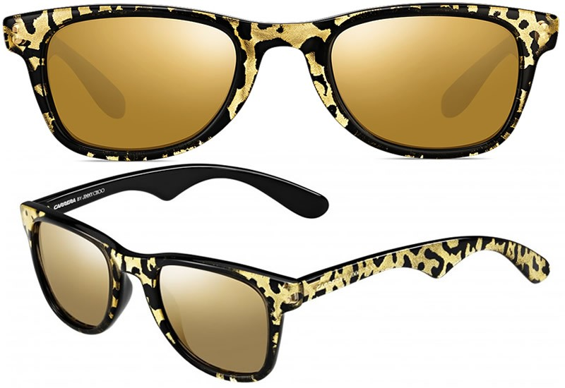 d138657a4929 Disappear Here  Jimmy Choo x Carrera Sunglasses With Real Gold.