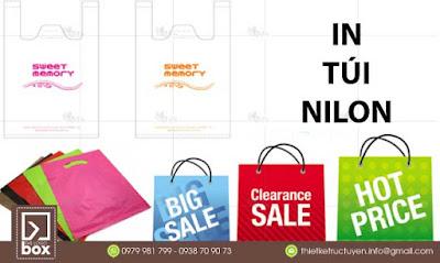 In túi nilon - Nhận in túi nilon và giao hàng tận nơi