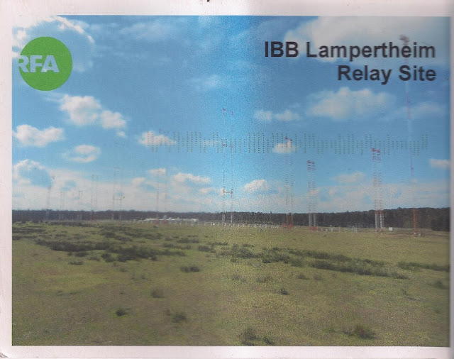IBB Lampertheim Relay Site Radio Free Asia QSL