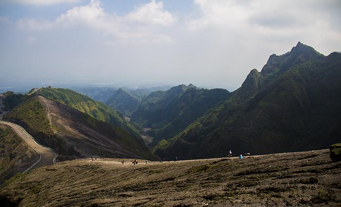 Jalur Pendakian Gunung Kelud via Kediri