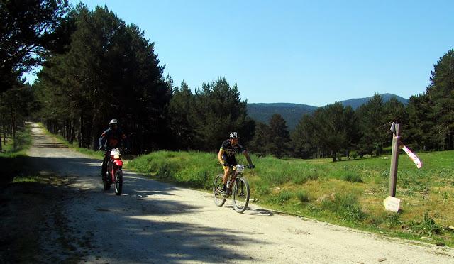 Ruta MTB Madrid Segovia - AlfonsoyAmigos