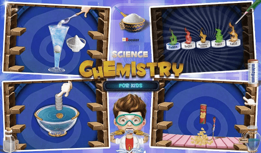 Gameiva Chemistry Best Educational Mobile Apps for Kids