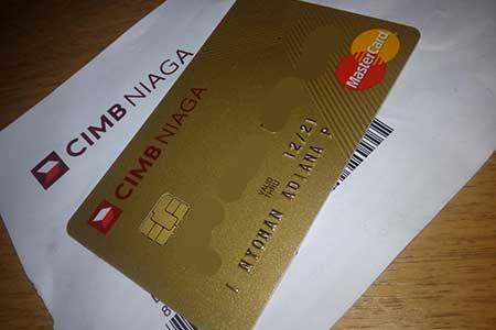 Kartu Kredit CIMB Niaga Tidak Bisa Digunakan Belanja Online Sebelum 3 Bulan