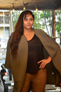Actress Namitha  Pictures at Bobbys Bistro Christmas Cake Mixing Ceremony  0012