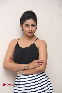 Telugu Actress Kruthika Jayakumar Stills in Short Dress at Intlo Deyyam Nakem Bhayam Success Meet  0041.JPG
