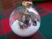 Frosty the snowman melted snow globe
