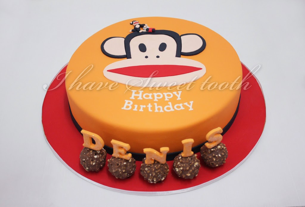 I Have Sweet Tooth Paul Frank Cake