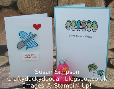 Stampin' Up! UK Independent Demonstrator Susan Simpson, Craftyduckydoodah!, Perfect Mix, Hey Chick, Coffee & Cards, Supplies available 24/7,
