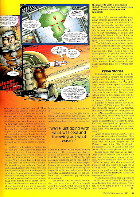 STARLOG # 4 MAGAZINE 1977 THE OUTER LIMITS RICHARD ANDERSON INTERVIEW FUN