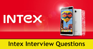 Intex Technologies Interview Questions