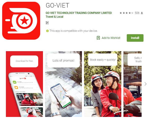 Gojek Vietnam Resmi Beroperasi