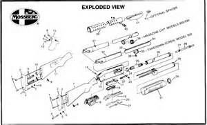 Akbar's Armory: Footnote R: Exploded Diagram Remington 7400