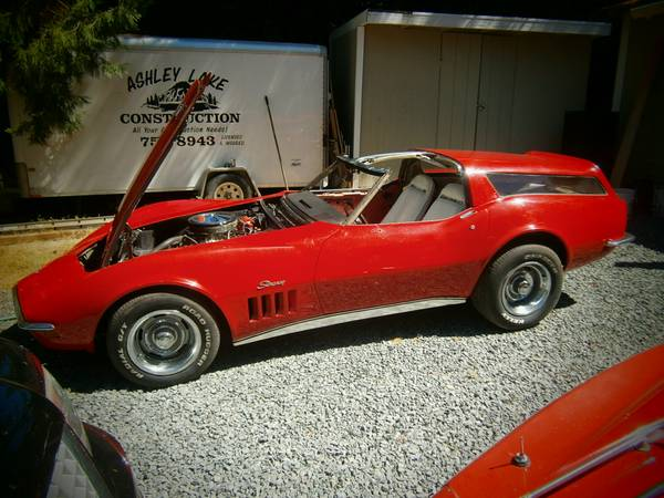daily turismo 20k breadvette 1969 chevrolet corvette shooting brake. Black Bedroom Furniture Sets. Home Design Ideas