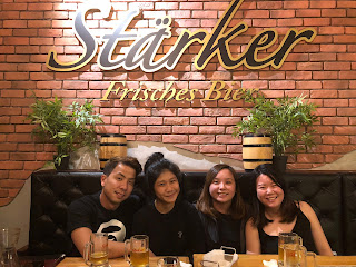 gathering at Starkers