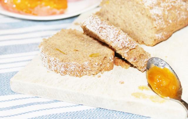 Plumcake di Castagne, Cachi senza glutine