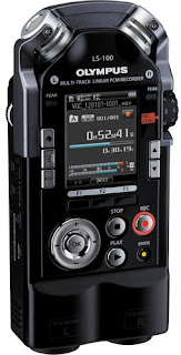 Olymous LS 100 Multi Track Voice Recorder