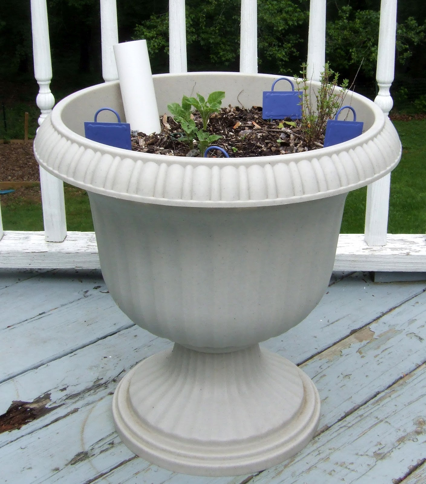 Make Self Watering Planters Diy Self Watering Planter Options Little Victorian
