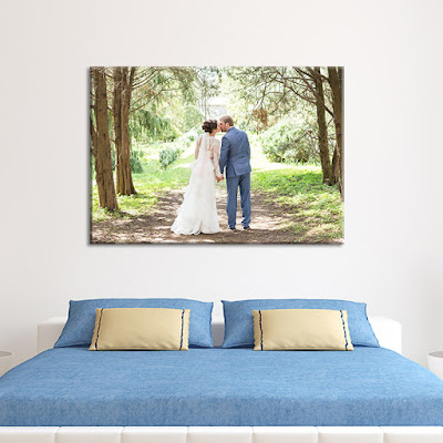 Wedding Canvas Wall Display