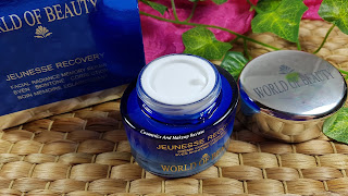 World Of Beauty – Jeunesse Recovery Cream - packaging