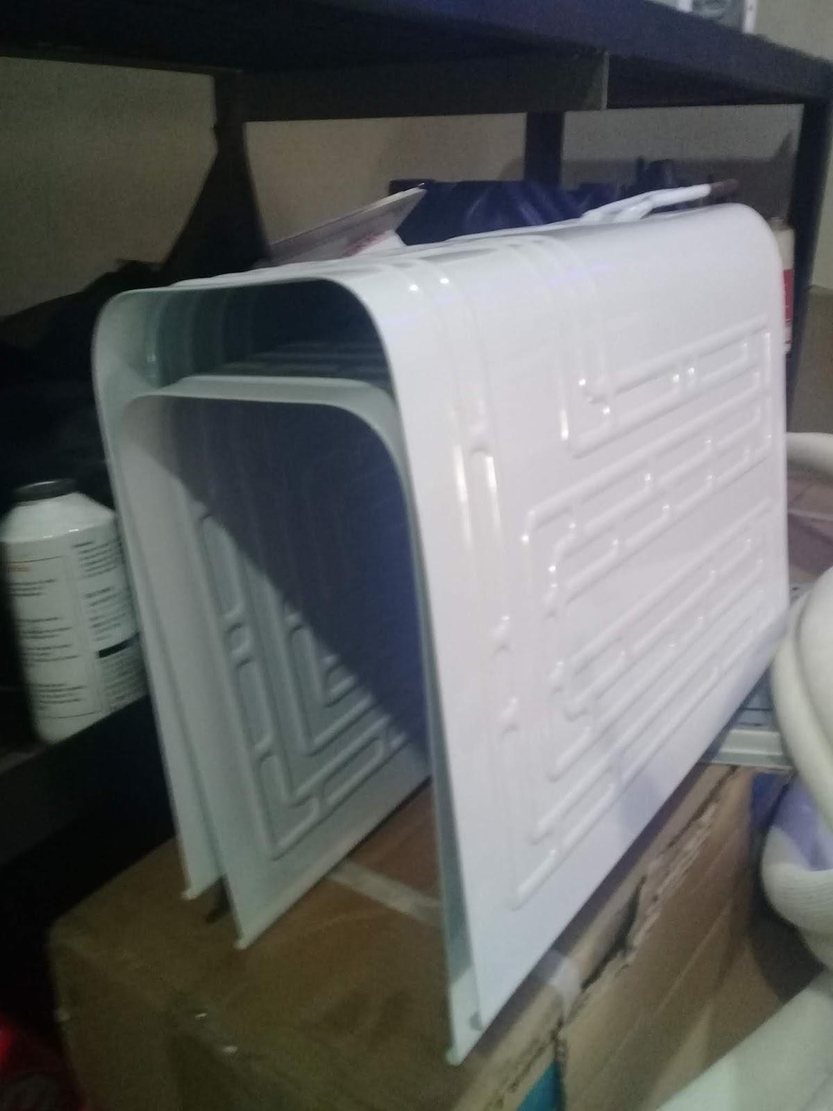 cara perbaikan evaporator kulkas bocor