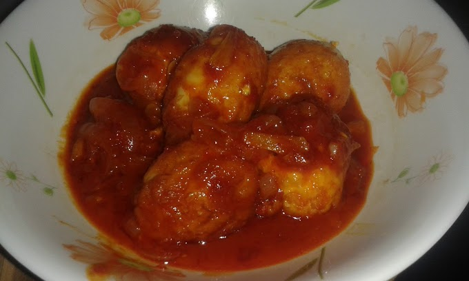 Sambal Tumis Telur Rebus In The House