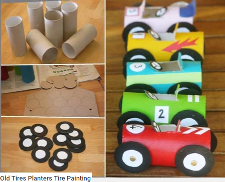 Prace plastyczne z dziećmi. Zabawy dla dzieci: Auto - Jak wykonać ...