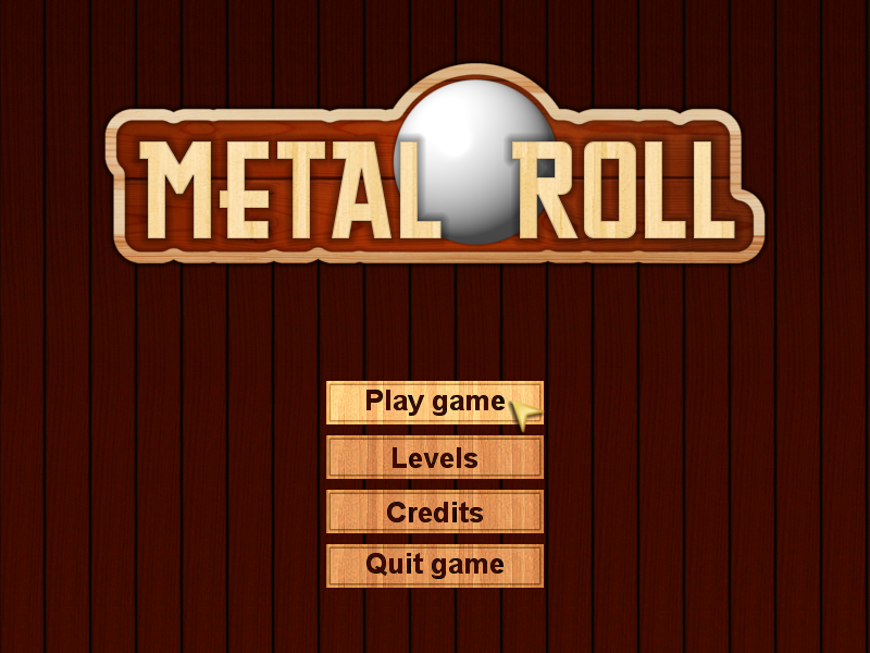 Metal Roll game