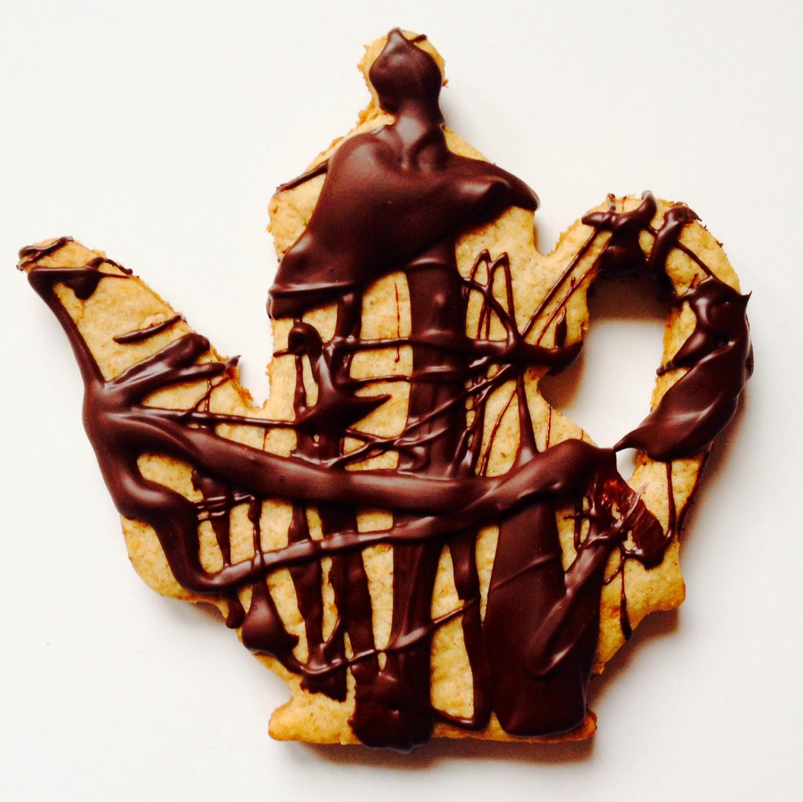 Chocolate Spelt Cookies
