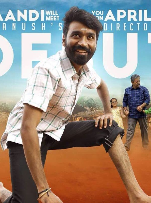 Power Paandi (2017) Hindi Dubbed 400MB HDRip 720p HEVC x265