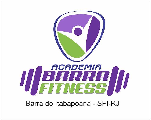 BARRA  FITNESS - LOGOTIPO DESENVOLVIDO PARA ACADEMIA -SFI