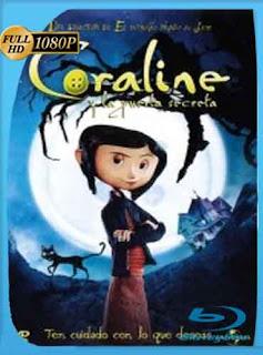 Coraline y la Puerta Secreta  2009 HD [1080p] Latino [Mega] dizonHD