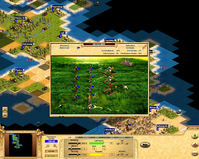 Civilization: Call to Power Battles