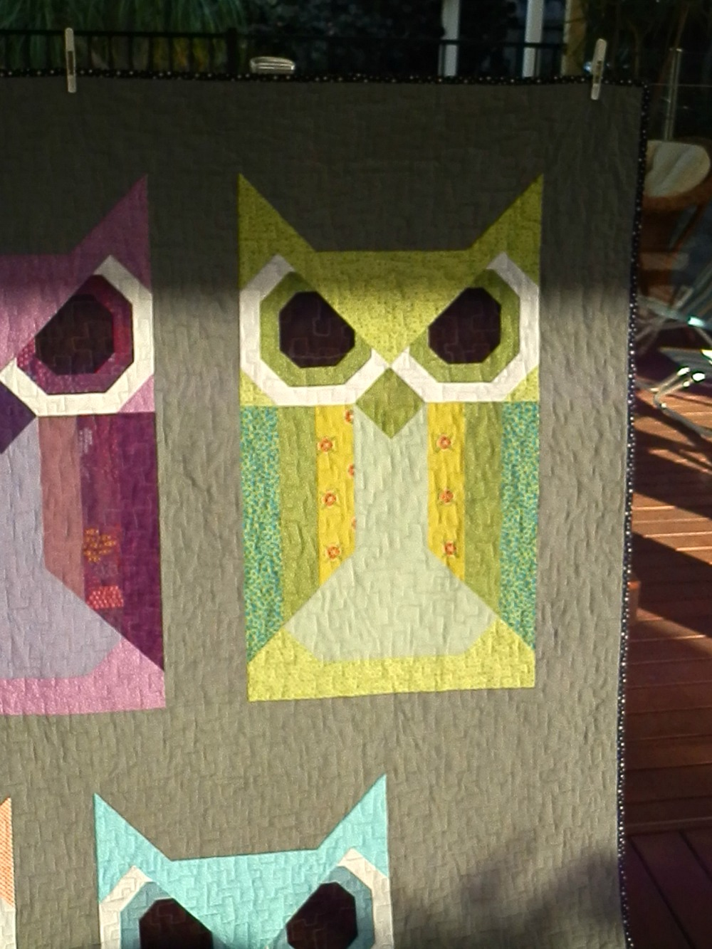 Quilt Knit Stitch 2017 : stitch quilt knit: Allie Owl and Fancy Fox