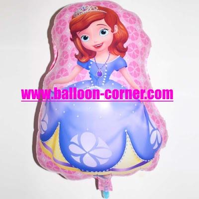 Balon Foil Karakter Princess Sofia