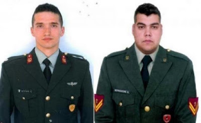 ΕΚΤΑΚΤΟ : Τουρκικά ΜΜΕ: Ελεύθεροι οι δύο Έλληνες στρατιωτικοί