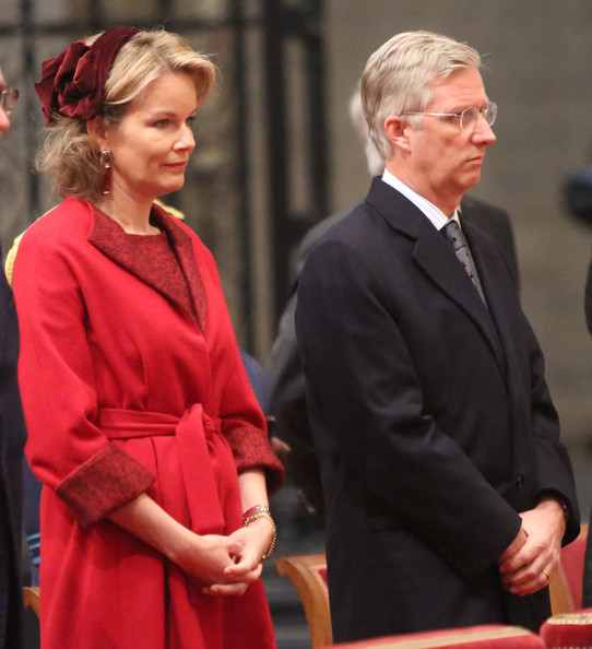 Princess Claire, Prince Laurent, Crown Princess Mathilde, Crown Prince Philippe, Princess Astrid and Prince Lorentz of Belgium
