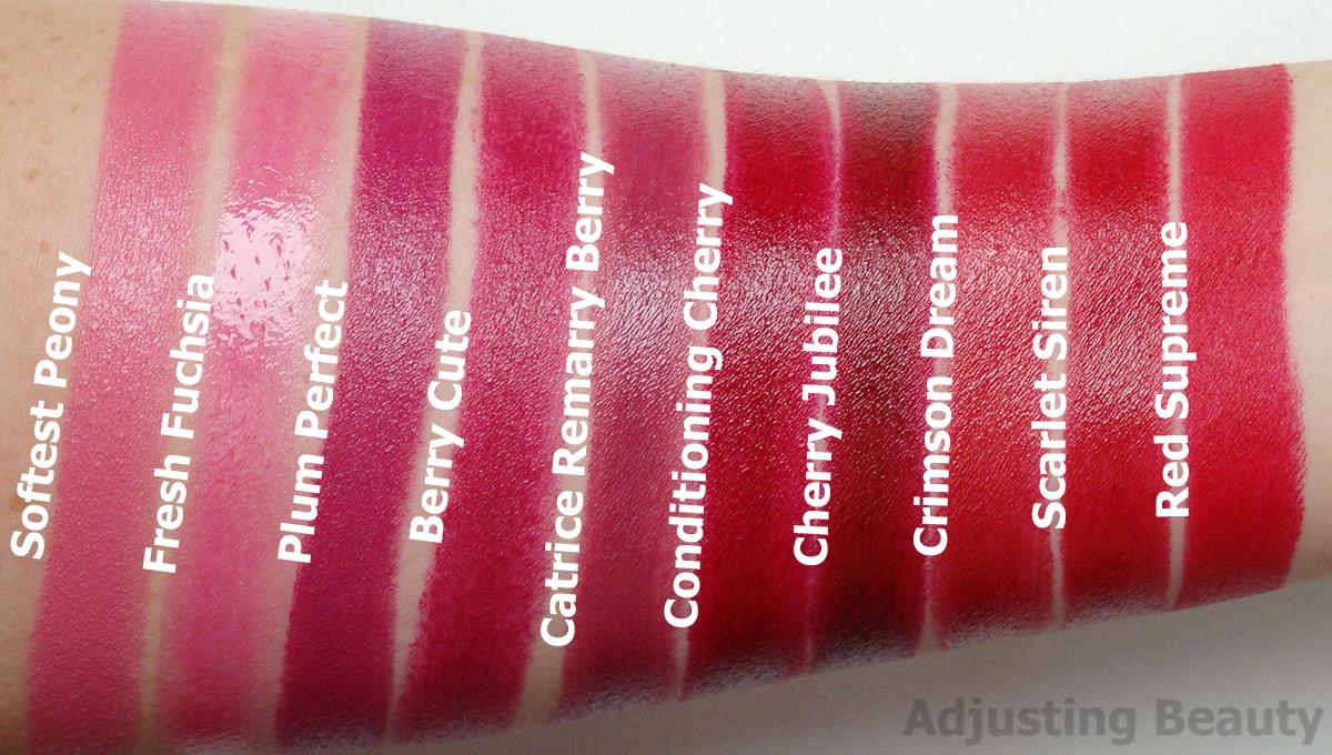 Review: Avon True Supreme Nourishing Lipsticks (All Shades