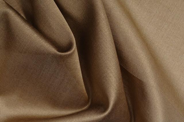 Bronze Cotton Silk Fabric